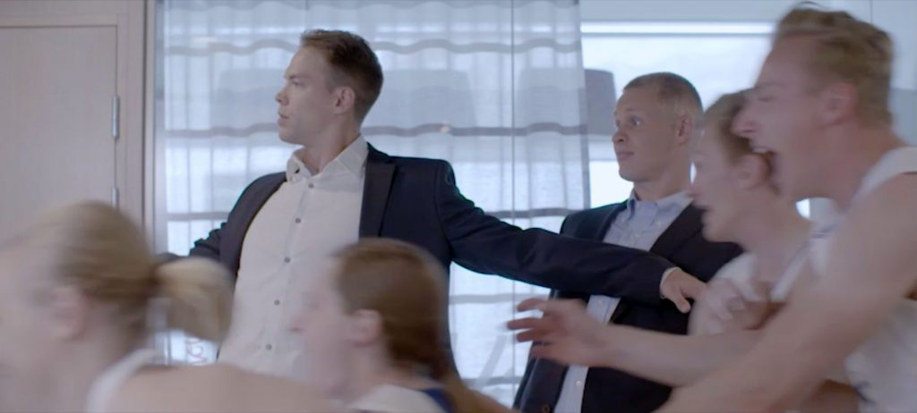 3 Step It/Basketball National Team Finland commercial - 2017