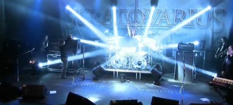 Stratovarius - Under Flaming Sky teaser live