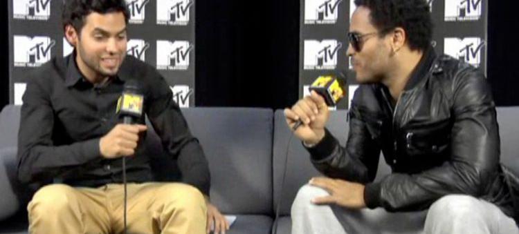 Axl Smith meets Lenny Kravitz