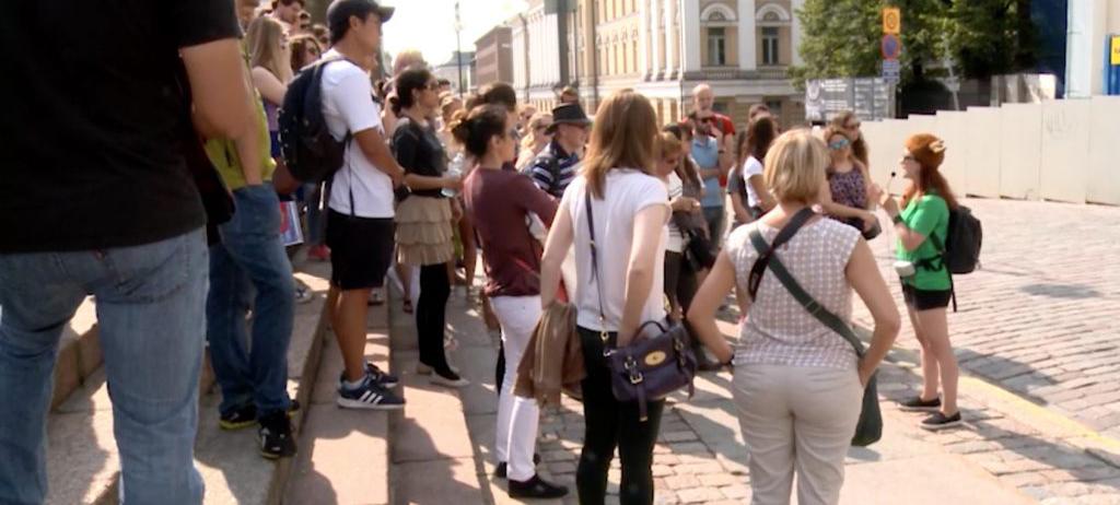 Turistit tulee YLE